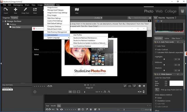 Screenshot StudioLine Photo Pro 4.2.47 Full Version