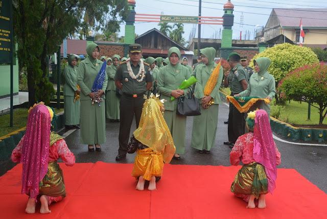 Danrem 012/TU Kunker ke Aceh Barat