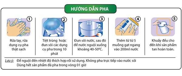 Cách sử dụng sữa tiểu đường Mamigo Diabetes Platinum