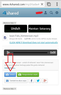 Cara Download Lagu Lewat HP Paling Simpel
