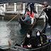 Mascarillas invaden Venecia, Italia, por coronavirus
