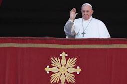 Paus Fransiskus Bela Migran, Serukan Perdamaian dalam Pesan Natal