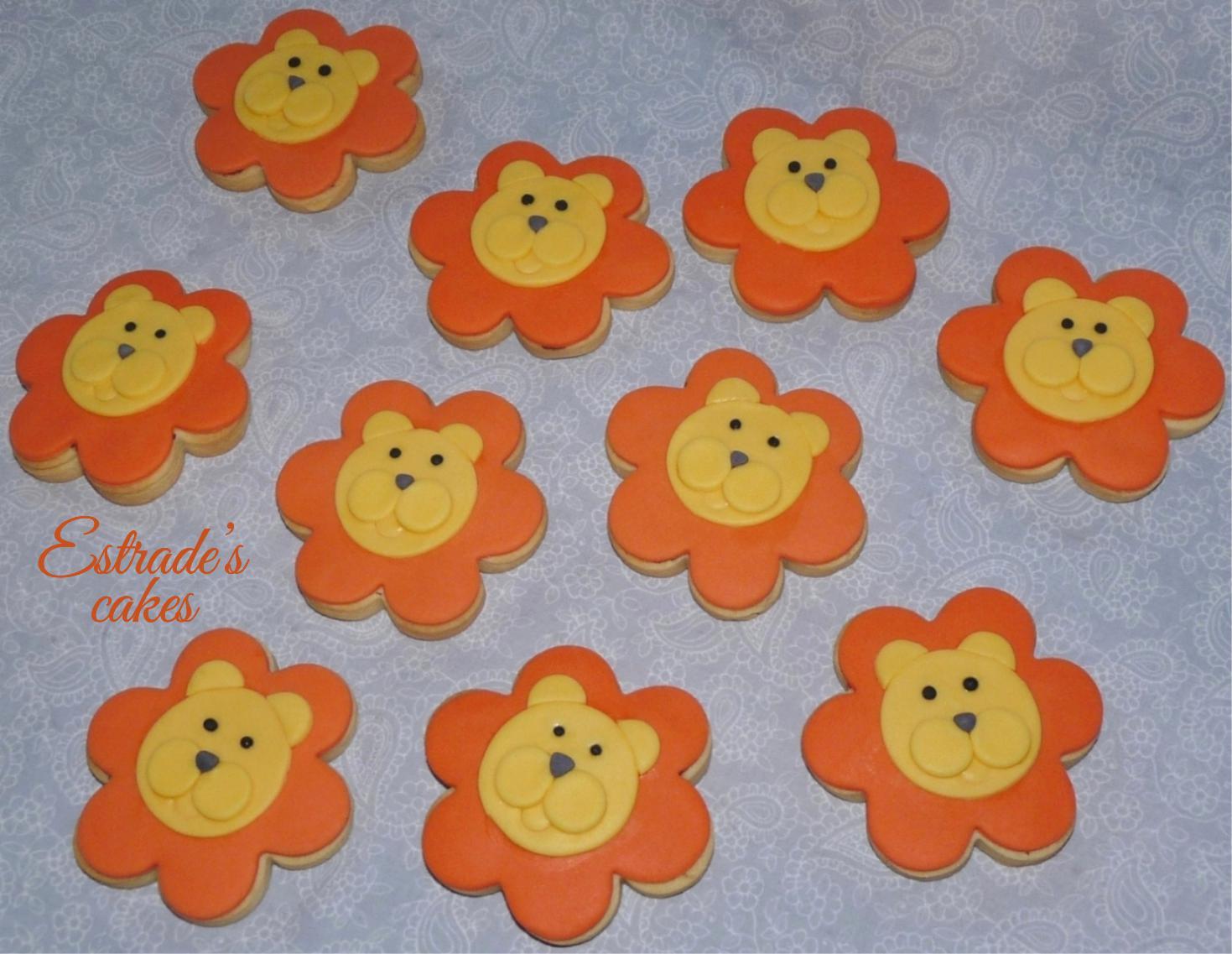 galletas de león - 1