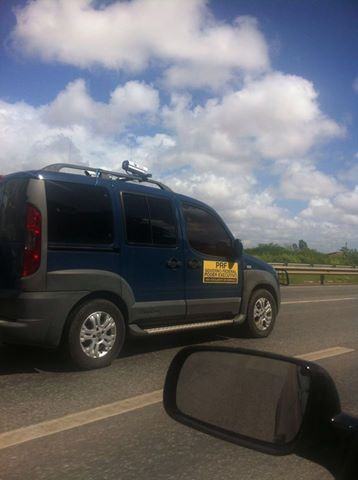 Nota da PRF sobre Imagem de viatura PRF com câmeras circula em redes sociais