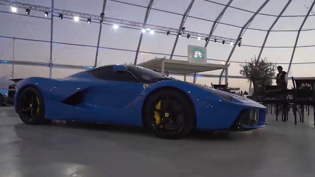 السياراة المتواجده في معرض الرياض للسيارات