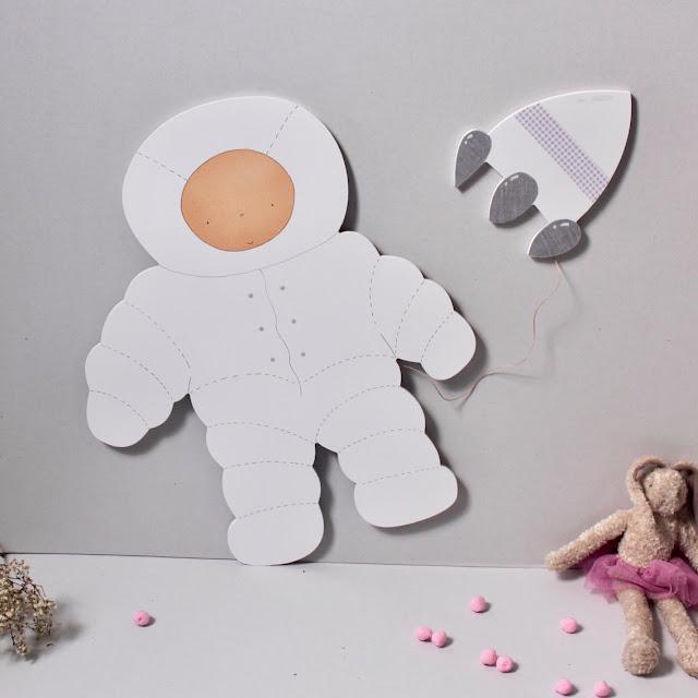 Decoracion infantil personalizada con siluetas de pegar en la pared