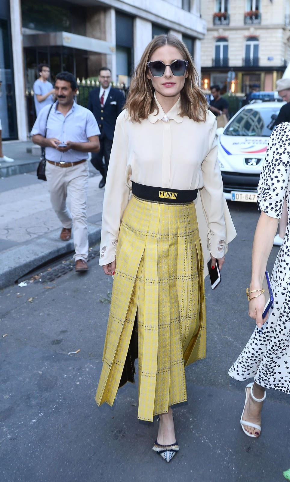 The Olivia Palermo Lookbook Olivia Palermo At Paris Haute Couture Fashion Week
