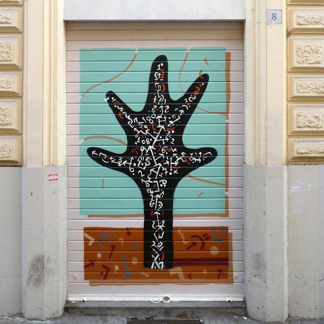 Уличный художник из Италии. Агостино Якурчи (Agostino Iacurci) 41