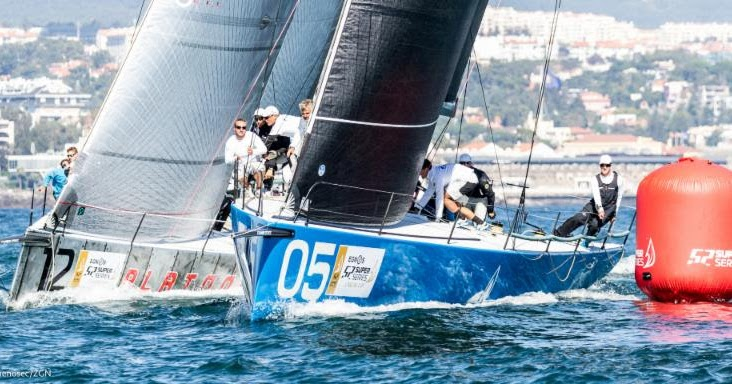 Tp52 super series cascais cup another good day for bronenosec-gazprom: now everything can happens