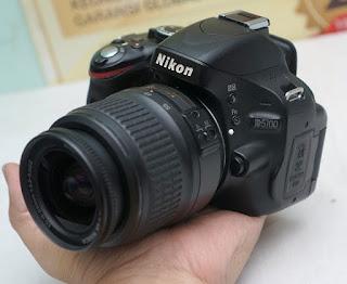Jual Nikon D5100 DSLR Second