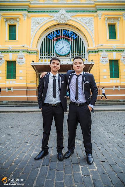 địa điểm thuê áo vest nam tại Sài Gòn