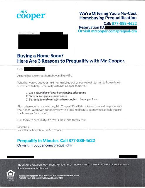Mr. Cooper Mortgage Offer