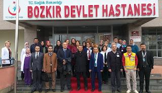 Bozkır Devlet Hastanesi Sağlık Bakanlığı 2018 Yılı Verimlilik Denetimi gerçekleştirildi.
