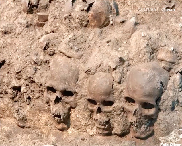 Sacrificios humanos prehispánicos no eran ejercicios de muerte, sino de regeneración de la vida, señalan expertos. Captura de pantalla.