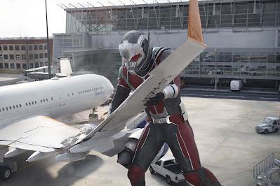 ant man crashing plane