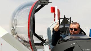 أردوغان يوضّح دور سلاح الجو التركي في معركة إدلب المرتقبة