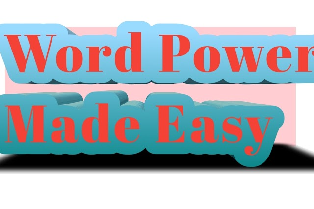 Word Power made easy Part1