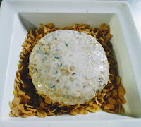 Battered soya patty dusting with corn flakes for soya protein burger Recipe