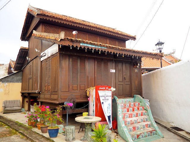 Harmony Street, Melaka, Malaysia