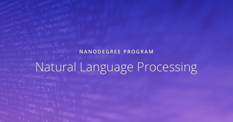 Udacity Natural Language Processing Nanodegree Free Download