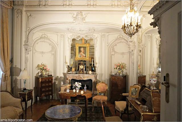 Estudio de Alva Vanderbilt en Marble House, Newport