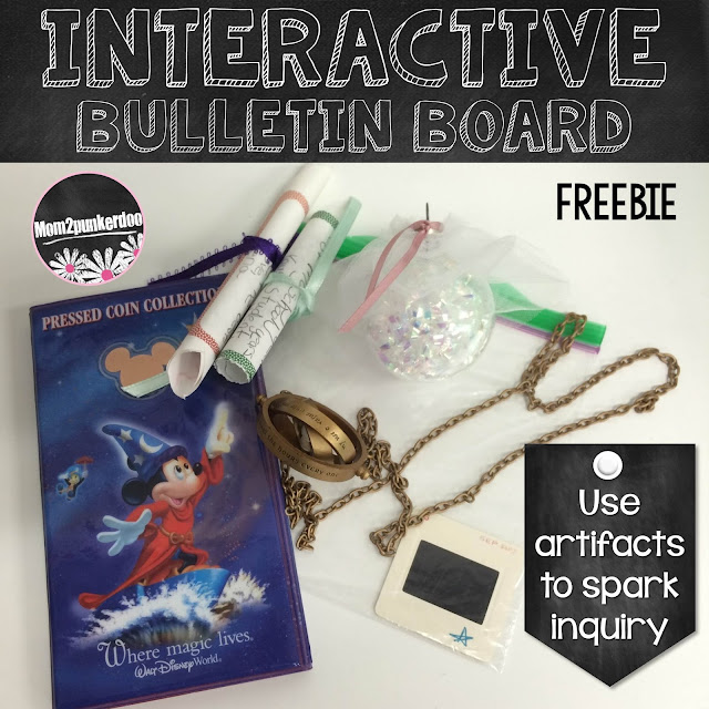 Are you looking for a creative way to build Inquiry into your classroom? This activity sparks lots of fun inquiry while building on inferencing skills, making connections, and focusing on different ways personal histories can be told.