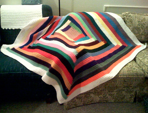 Quilt-Inspired Throw - Free Pattern