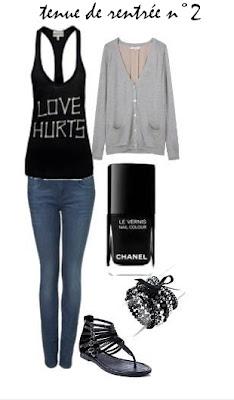 sarah love fashion mes id es de tenues pour la rentr e. Black Bedroom Furniture Sets. Home Design Ideas