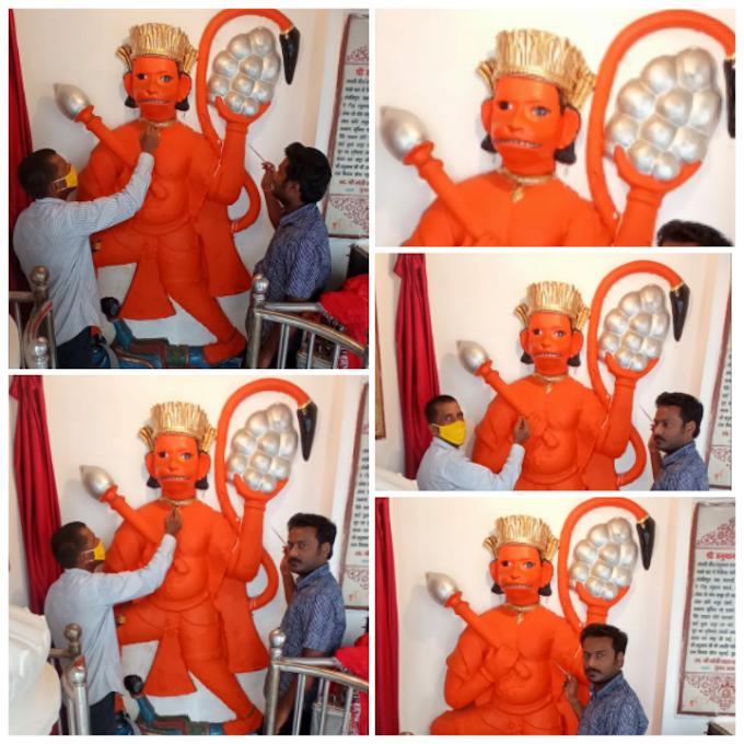 छितवापुर हुसैनगंज हनुमान मंदिर में बड़े मंगल पर होगी विशेष पूजा अर्चना