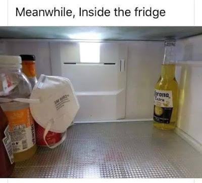 Meanwhile, Inside your fridge... www.jokestotell.com