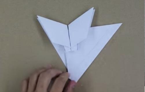 Hướng dẫn gấp máy bay F15 bằng giấy p2