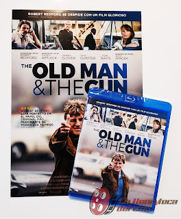 The oldman and the gun fotos bluray