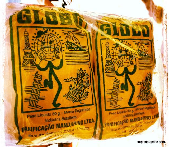 Comer no Rio de Janeiro - Biscoitos Globo