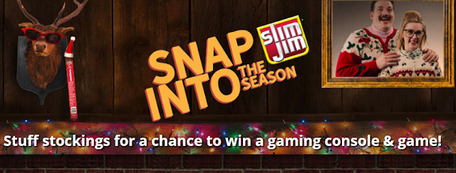 Slim Jim wants you to take a bold break every day and snap into the Season by entering to win a video game console and a bunch of Slim Jim snacks!