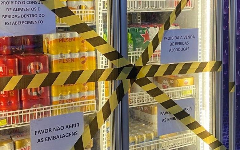 Venda de bebidas alcoólicas inclusive delivery está proibida em toda Bahia neste final de semana