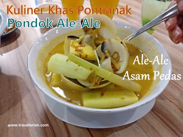 Kuliner Ale-Ale Khas Kalbar di Pondok Ale-Ale Pontianak