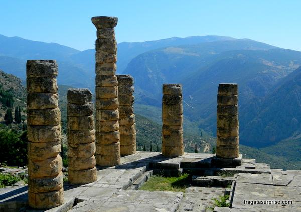Templo de Apolo, Delfos, Grécia