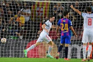 فوز بايرن ميونيخ على برشلونة بثلاثية في دوري أبطال أوروبا