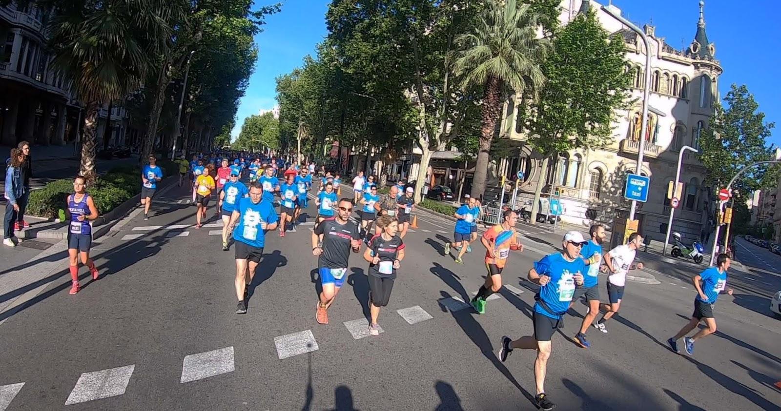 Marta Castroviejo y Ruben Palomeque se hacen con la victoria en la VII Cursa Diagonal DIR Guàrdia Urbana