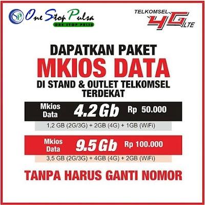 Kuota Pulsa Internet Mkios Data 369 dan 777 Update Terbaru