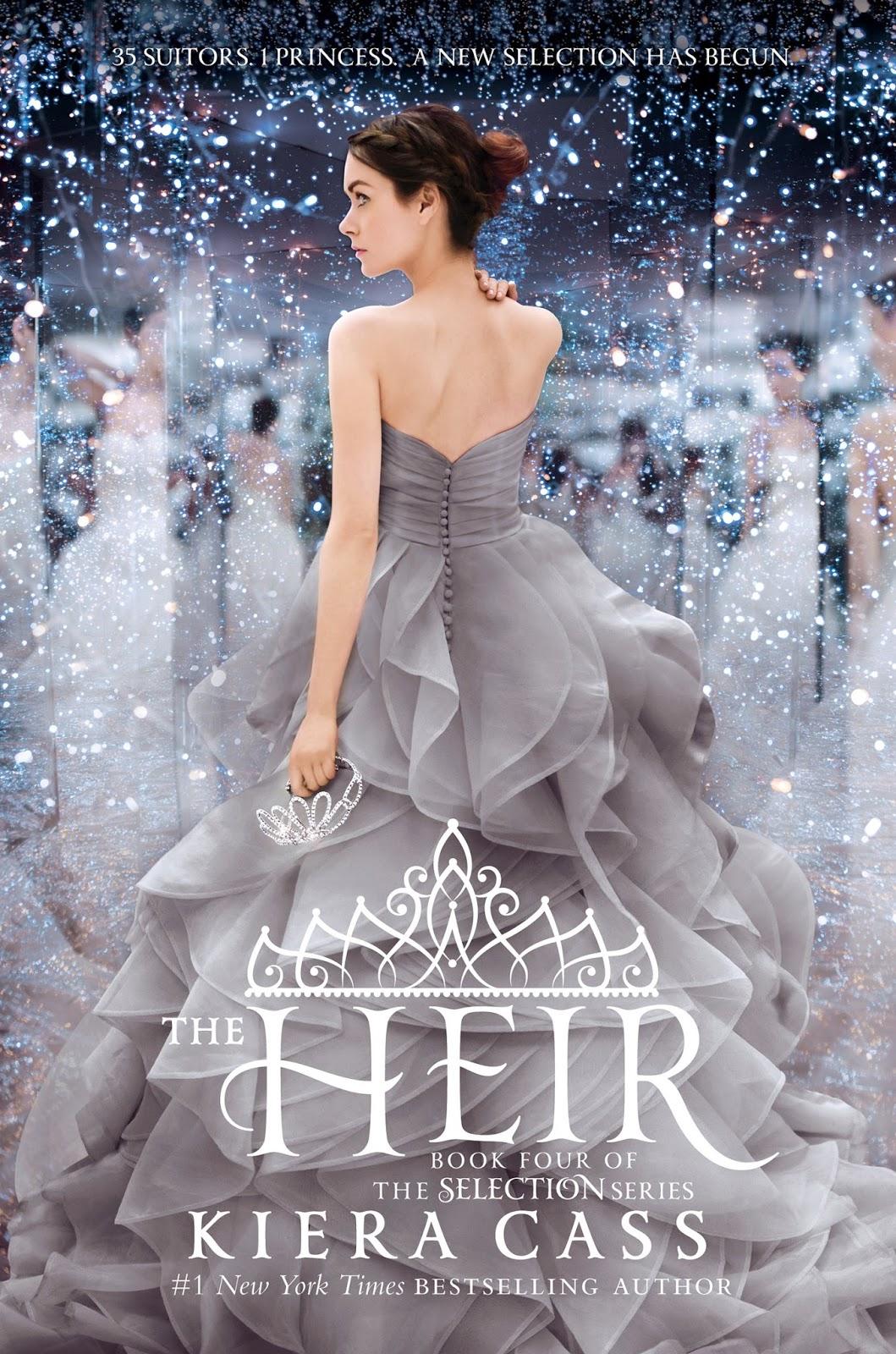 The Heir Kiera Cass cover The Selection