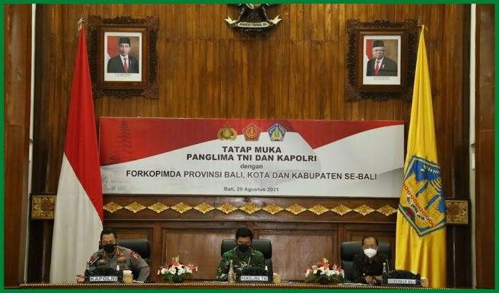 Kapolri Minta Strategi Pengendalian Covid-19 di Bali Diperkuat Agar Ekonomi Terus Tumbuh