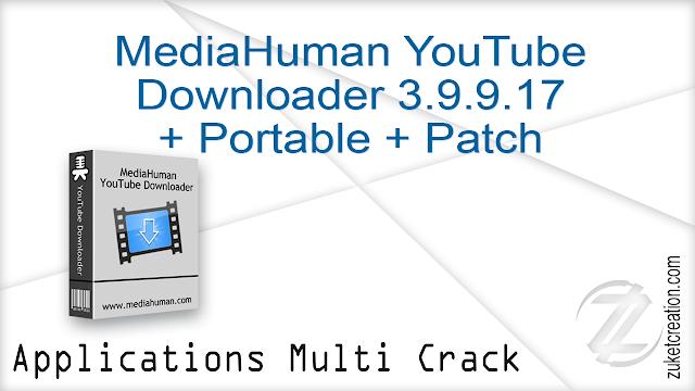 MediaHuman YouTube Downloader 3.9.9.16 (1305) + Crack  |  32.4 MB