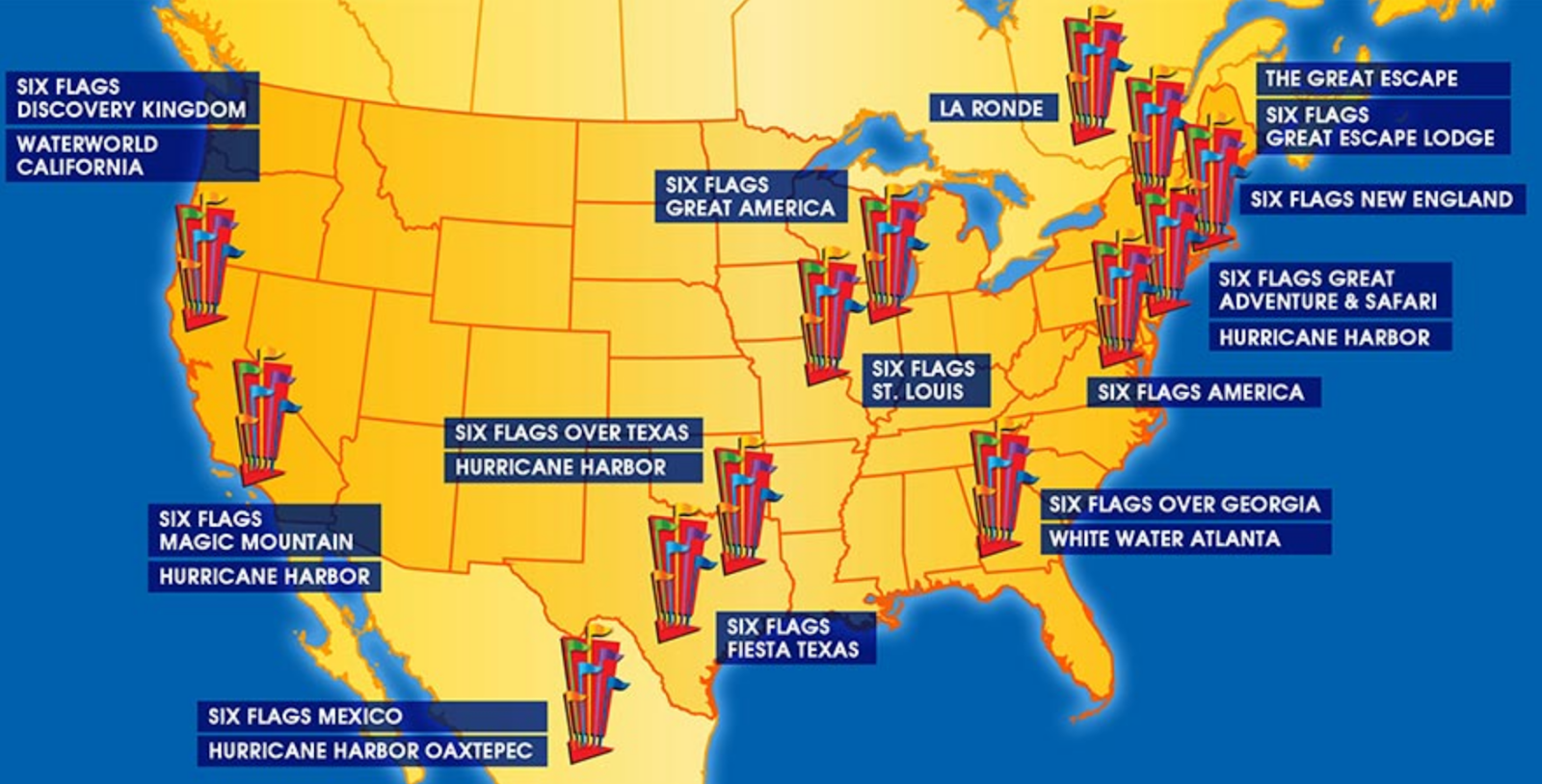 NewsPlusNotes: Heard On... Six Flags' 2nd Quarter Earnings ...