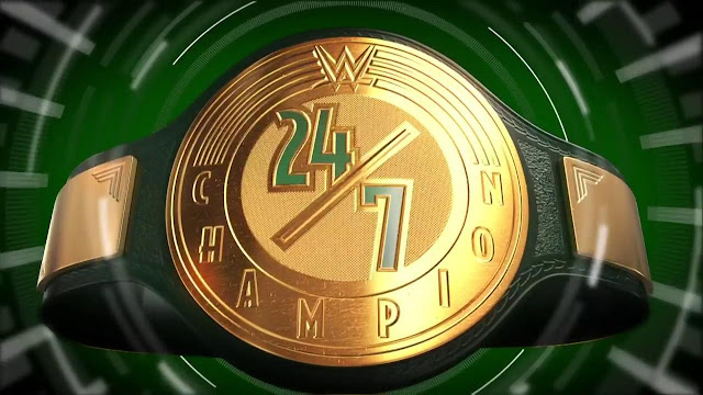 WWE 24/7 Championship muda de mãos