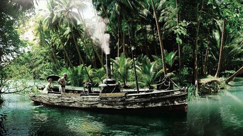 The African Queen boat