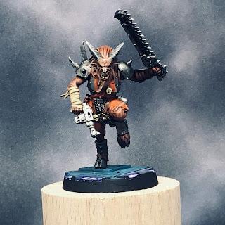 Blackstone Fortress Chaos Beastman - front