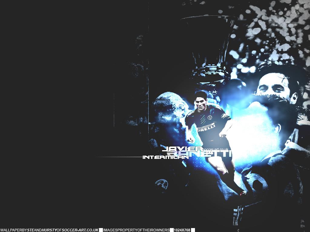 Messi Lionel: Javier Zanetti Wallpaper 2011