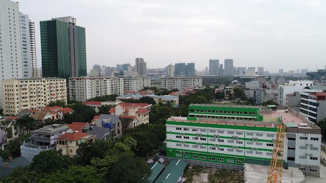 Hướng Đông Nam nhìn về Bảo tàng Hà Nội