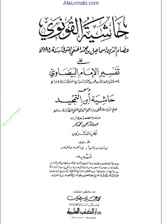 Hashiya Tul Qunovi / حاشیۃ القونوی حاشیہ قونوی by امام ناصر الدین عبداللہ بن عمر الشیرازی
